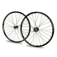 "ANSWER 20 x 1.1/8"" Pinnacle Mini Wheel Set (Black)"