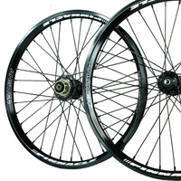 "ANSWER 20 x 1.75"" Pinnacle Pro Wheel Set (Black)"
