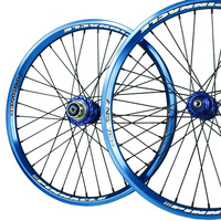 "ANSWER 20 x 1.75"" Pinnacle Pro Wheel Set (Blue)"