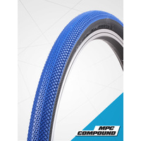 "Vee 24 x 1.1/8"" Speedster Foldable Tyre suit 520mm (Blue Tread)"