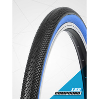 "Vee 24 x 1.50"" Speedster Foldable Tyre suit 507mm (S-Wall Blue)"