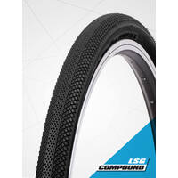 "Vee 24 x 1.75"" Speedster Foldable Tyre suit 507mm (S-Wall Black)"