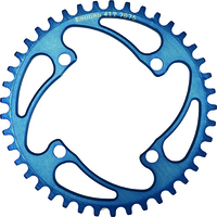 RENNEN 4 Bolt 104 Threaded 40T Chainring (Blue)