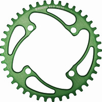 RENNEN 4 Bolt 104 Threaded 44T Chainring (Green)