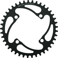 RENNEN 4 Bolt 104 Threaded 46T Chainring (Black)