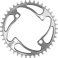 RENNEN 4 Bolt 104 Threaded 49T Chainring (Polished)