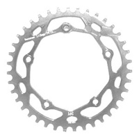 RENNEN 5 Bolt 110 Threaded 38T Chainring (Polished)