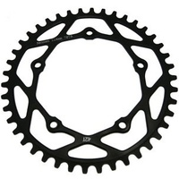 RENNEN 5 Bolt 110 Threaded 47T Chainring (Black)