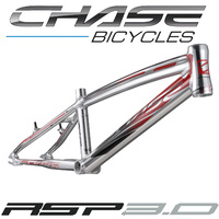 "CHASE RSP 3.0 Frame Mini-XL 18.00""TT (Polished-Red)"