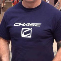 CHASE Tee Shirt Blue (Small)