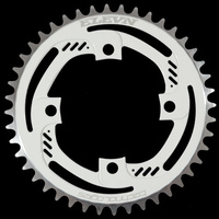 ELEVN 4 Bolt 104 36T Chainring (White)