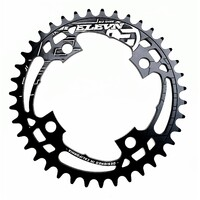 ELEVN Flow 4 Bolt 104 38T Chainring (Black)