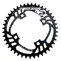 ELEVN Flow 4 Bolt 104 43T Chainring (Black)