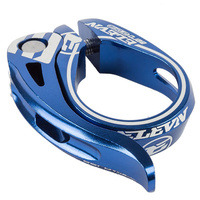 ELEVN Aero Seat Post Clamp Suit 25.4  Post Q/R (Blue Anodized)
