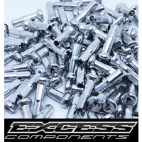 EXCESS Alloy Spoke Nipples 14G 80pack (Polished)