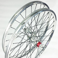"EXCESS Expert Wheel Set 20""x1.3/8"" 28/28 Cassette (Polished)"