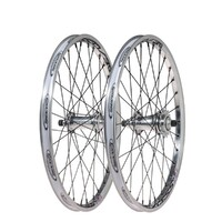 "EXCESS Pro Wheel Set 20""x1.50"" 32/32 Cassette (Polished-Black)"