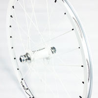 "EXCESS Expert Front 20mm Wheel 20""x1.3/8"" 28H (White)"