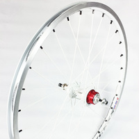 "EXCESS Expert Rear Cassette 10mm Wheel 20""x1.3/8"" 28H (White)"