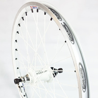 "EXCESS Pro-Lite Rear Cassette 10mm Wheel 20""x1.50"" 32H (White)"