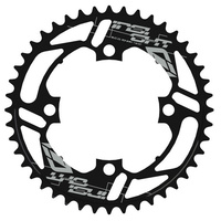 INSIGHT 4 Bolt Chainring 104mm bcd 5mm 39T (Black)