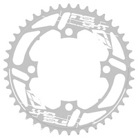 INSIGHT 40T 4 Bolt Chainring 104mm bcd (Silver)