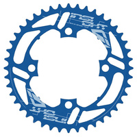 INSIGHT 43T 4 Bolt Chainring 104mm bcd (Blue)