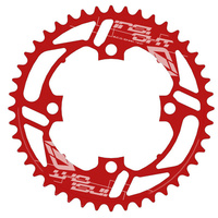 INSIGHT 44T 4 Bolt Chainring 104mm bcd (Red)