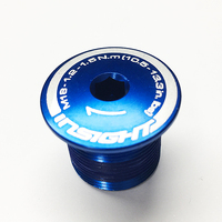 INSIGHT Alloy Crank Bolt M18x18.9x1.0 (Blue)