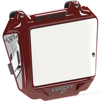INSIGHT 3-D Expert Plate (White/Red Trim)