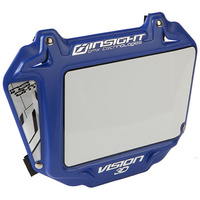 INSIGHT 3-D Pro Plate (White/Blue Trim)