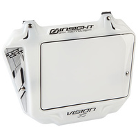 INSIGHT 3-D Pro Plate (White/White Trim)