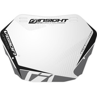 INSIGHT Mini Plate (White Background w/ Black)
