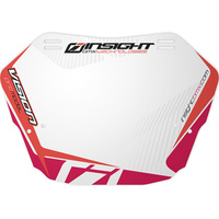 INSIGHT Pro Plate (White Background w/ Red)