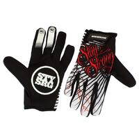 Stay Strong For Life Glove Black (Small)