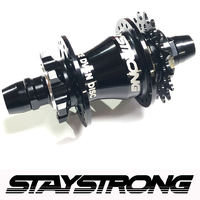Stay Strong Cassette Disc Hub 28H (Black)