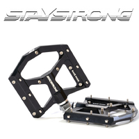 Stay Strong Torque PRO Platform Pedals suit 9/16 (Black)