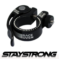 Stay Strong Seat Post Clamp Q/R 25.4mm (Black)