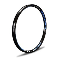 "IKON Alloy Rim 20 x 1.75"" 36H Brake (Black-Blue)"