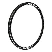 IKON Carbon Rim 20 x 1.1/8-3/8 36H No-Brake (Black-White)