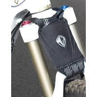 Mountain Bike Mud Flap THE Brand suit Suspension Forks 4 Sizes (Black) the brand