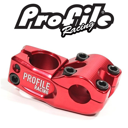 PROFILE 'Mulville' Push Stem 53mm reach (Red)