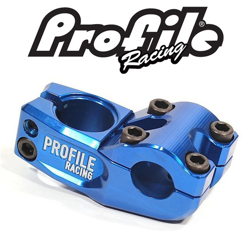PROFILE 'Mulville' Push Stem 58mm reach (Blue)