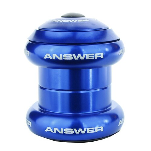 "ANSWER Mini 1"" Press in Headset (Blue)"
