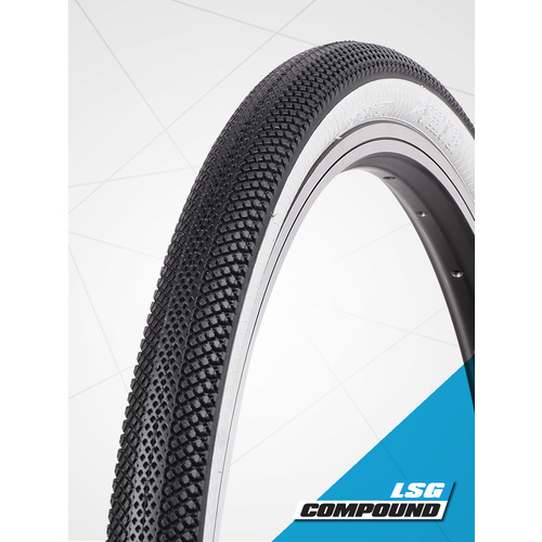 "Vee 20 x 1.95"" Speedster Foldable Tyre suit 406mm (S-Wall White)"