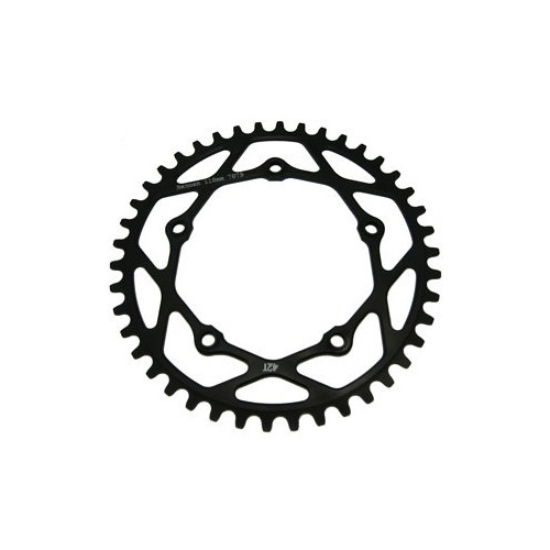 RENNEN 5 Bolt 110 Threaded 37T Chainring (Black)