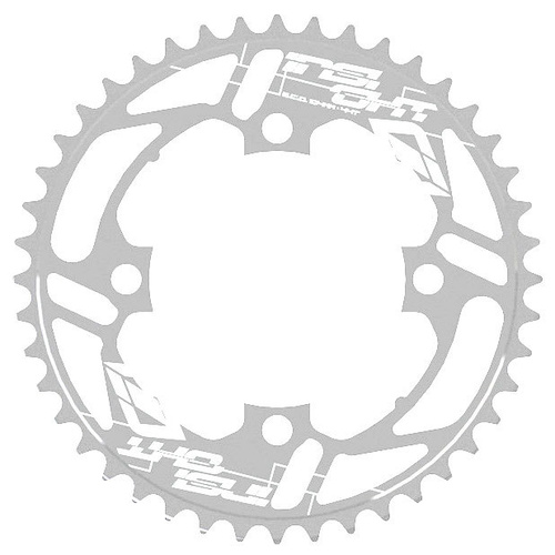 INSIGHT 4 Bolt Chainring 104mm bcd 5mm 37T (Polished)
