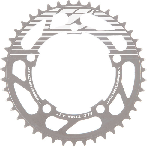 INSIGHT 5 Bolt Chainring 110mm bcd 3mm 43T (Polished)